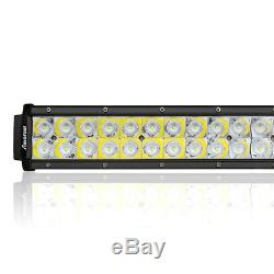 52Inch 1200W CREE LED Work Light Bar Offroad Lamp Spot Flood Combo 4WD SUV Truck
