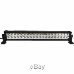 52in 300W Curved LED Light Bar + 22in 120W LED Bar +4X 4 18W Pods PK 20+50