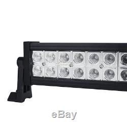 52inch 700w+2x 18w Led Work Light Bar Combo Fit For Jeep Wrangler Jk Yj Tj Lj Cj
