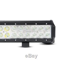 """4/"""" CREE Pods ATV SUV Off Road Truck Jeep Ford 40 42 inch 20in LED Light Bar"""