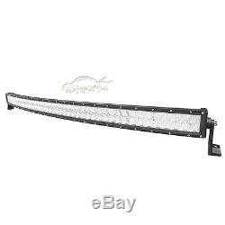 5D+ 50INCH 960W CREE CURVED LED Light Bar Spot Flood Offroad 4WD Jeep Truck ATV