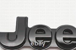 5PCS 2014-2018 Jeep Grand Cherokee Gloss Black Replacement Nameplate Emblem 4x4