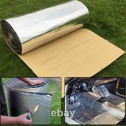 5m x 50cm Car Firewall Sound Deadener Heat Insulation Noise Material Mat 5mm