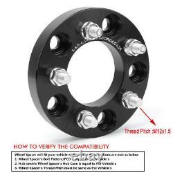 5x5 to 5x4.5 Wheel Adapters for Jeep YJ TJ ZJ XJ KJ KK MK Wheels on WJ WK JK/JKU