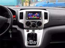 6.2 2Din HD 169 Bluetooth Car SUV 7 Colors GPS Navigation Stereo DVD CD Player