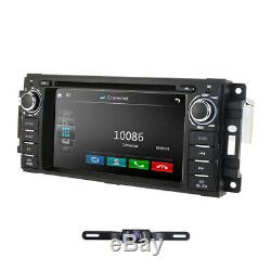 6.2 Car DVD Player GPS Stereo Radio For Jeep Grand Cherokee/Chrysler/Dodge +Cam