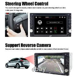 6.2 Inch Double 2Din Car Stereo GPS Navigation System TV DVD Player Bluetooth