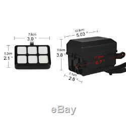 6 Button Switch Panel Relay Module Wiring Harness Kit for LED Off Road Light Bar