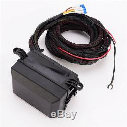 6 LED Switch Panel Relay Control BoxWiring Harness For Car Truck With 12V Power