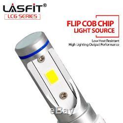 6x Combo H11 9005 H16 LED Headlight Conversion Kit High Low Beam Fog Light 6000K