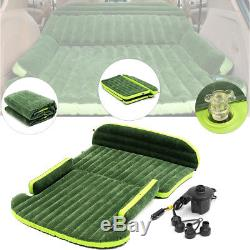 6x4 Ft SUV Car Inflatable Mattress Back Seat Bed Air Pump For Travel Camping