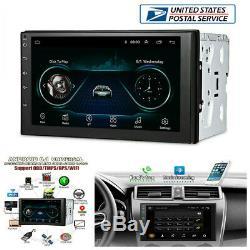 7 2Din Android 8.1 Car WiFi Radio Stereo GPS Navigation Multimedia Player -USA