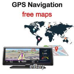 7.8 1080P Android 5.1 Auto Car Dash Camera Recorder Wifi FM GPS Multi-function