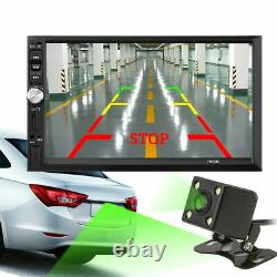7 Car Stereo Radio HD MP5 Player Touch Screen Bluetooth Radio 2 Din Rear Camera