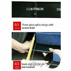 78.7'' Car Side Skirt Body Extension Splitter Diffuser Panel Lip Glossy Black US