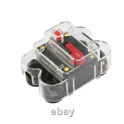 8 Gang Switch Panel LED Work Light Bar Electronic Relay System CAR Boat Marine