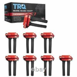 8 Piece Premium High Performance Engine Ignition Coil for Chrysler Dodge Ram New