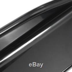 86.6'' Universal Lower Side Skirts Body Kit Rocker Panel Extension Polypropylene