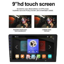 9 1Din Car Stereo Multimedia MP5 Player Bluetooth USB FM Radio HD Touch Screen