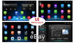 9 Android 6.0 1080P Double Din Touch Pad Car Stereo Radio Player GPS 2+32G Wifi