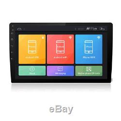 9 Android 7.1 2Din Touch Screen Quad-Core Car Stereo Radio GPS Wifi Mirror Link