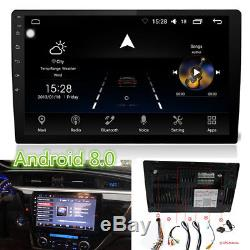 9 Android 8.0 Double 2Din Car Stereo GPS Radio Pad RAM4G ROM32G 8-Core WiFi