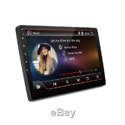 9 In-Dash Car GPS 4GB Android 8.0 2 Din Stereo Radio Player Octa-Core Head Unit