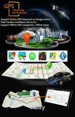 9 Inch Android 8.1 Touch Screen GPS FM WIFI In-dash Head Unit Rear view Camera