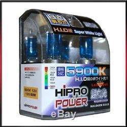 9004 Hb2 5900k Xenon Halogen Headlight Bulbs High-low