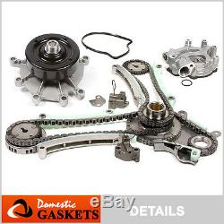 99-04 Jeep Dodge 4.7L SOHC Timing Chain Oil Pump Water Pump Kit JTEC design