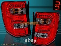 99-04 Jeep Grand Cherokee Led Tail Lights Led Red/smoke 99 00 01 02 03 04
