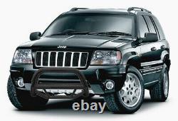 ATU Bull Bar Black fits 99 04 Jeep Grand Cherokee