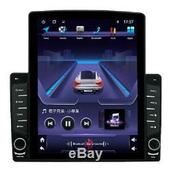 Adjustable 10.1 1DIN Android 8.1 Quad-core Car GPS Bluetooth Radio MP5 Player