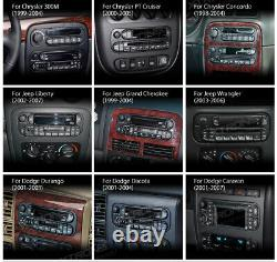 Android 10 5 Car GPS Radio Stereo Quad-Core Head Unit For Jeep Wrangler Dodge
