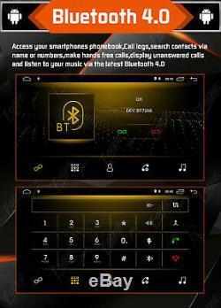 Android 9.0 Double 2Din Car Stereo Radio GPS Nav Wifi DAB Mirror Link no DVD+MIC