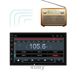 Android 9.1 7 2DIN Touch Screen Car Stereo GPS Navigation Radio MP5 Player WIFI