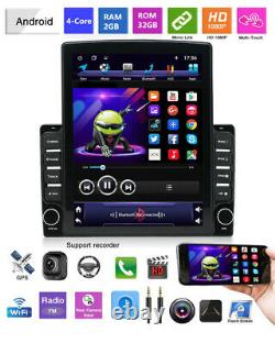 Android 9.1 HD 9.7inch Car Stereo Radio Player WIFI GPS Nav Mirror Link OBD DAB