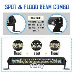 Autofeel 22 inch straight Led Light Bar Combo Flood Spot 20 22 Offroad Truck