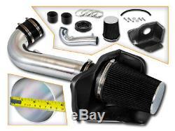 BCP BLACK 11-18 Grand Cherokee/Durango 5.7L V8 Heat Shield Cold Air Intake Kit