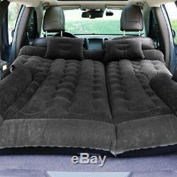 Black Car SUV Inflatable bed back seat Air Mattress Camping Sleeping love