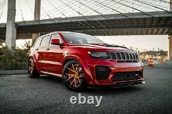 Body kit for Jeep Grand Cherokee WK2 SRT Trackhawk 2011-2021 Tyrannos V3