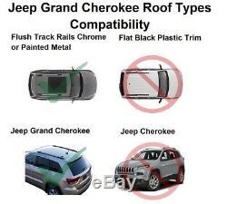 Brightlines Cross Bars Crossbars Roof Racks For 2011-2020 Jeep Grand Cherokee Oe