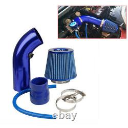 Car Cold Air Intake Filter Induction Kits Pipe Power Flow Hose System Auto Parts