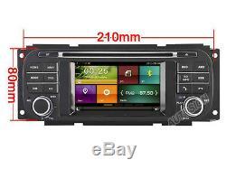 Car DVD GPS Stereo Radio Nav For Jeep Grand Cherokee Dodge RAM Chrysler Sebring