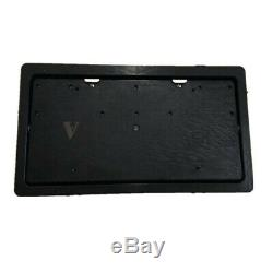 Car Flip Retractable License Plate Frame Hide-Away Shutter Cover Up USA Standard