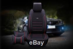 Car Gorgeous Accessories Leather Seat Cover Seat Cushion Front/Rear Interior Set