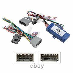 Car Radio Stereo 2 Din Dash Kit Amp SWC Harness for 07-up Chrysler Dodge Jeep