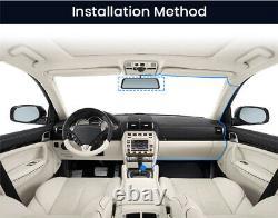 Car Stream Rear View Mirror Dual Lens Dash Cam Video Recorders Reversing Monitor