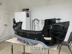 Diffuser for rear bumper Jeep Grand Cherokee WK2 SRT 2012-2020 Renegade Design