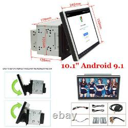 Double 2Din 10.1inch Android 9.1 Quad Core Car Radio In Dash Stereo GPS 4G OBD